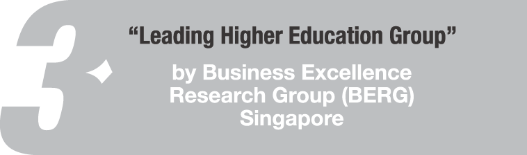 Leading Higher Education Group Award By BERG Singapore