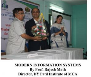Mr. Rajesh Math - Director, DY Patil Institute of MCA