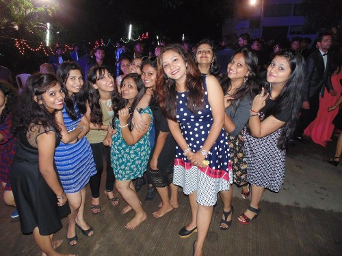 Fresher's Party at ASM IPS, Pune