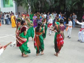 Ganpati Visarjan at ASM IPS, Pune