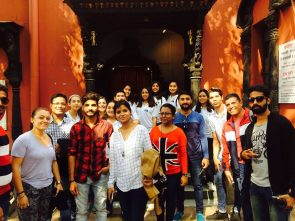 Visit of Mexican Student to ASM IPS Campus