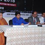 Dr. Asha-Pachpande, Dr. Sandeep Pachpande and Prof. J.A. Kulkarni, Prof. Bhushan Pednekar